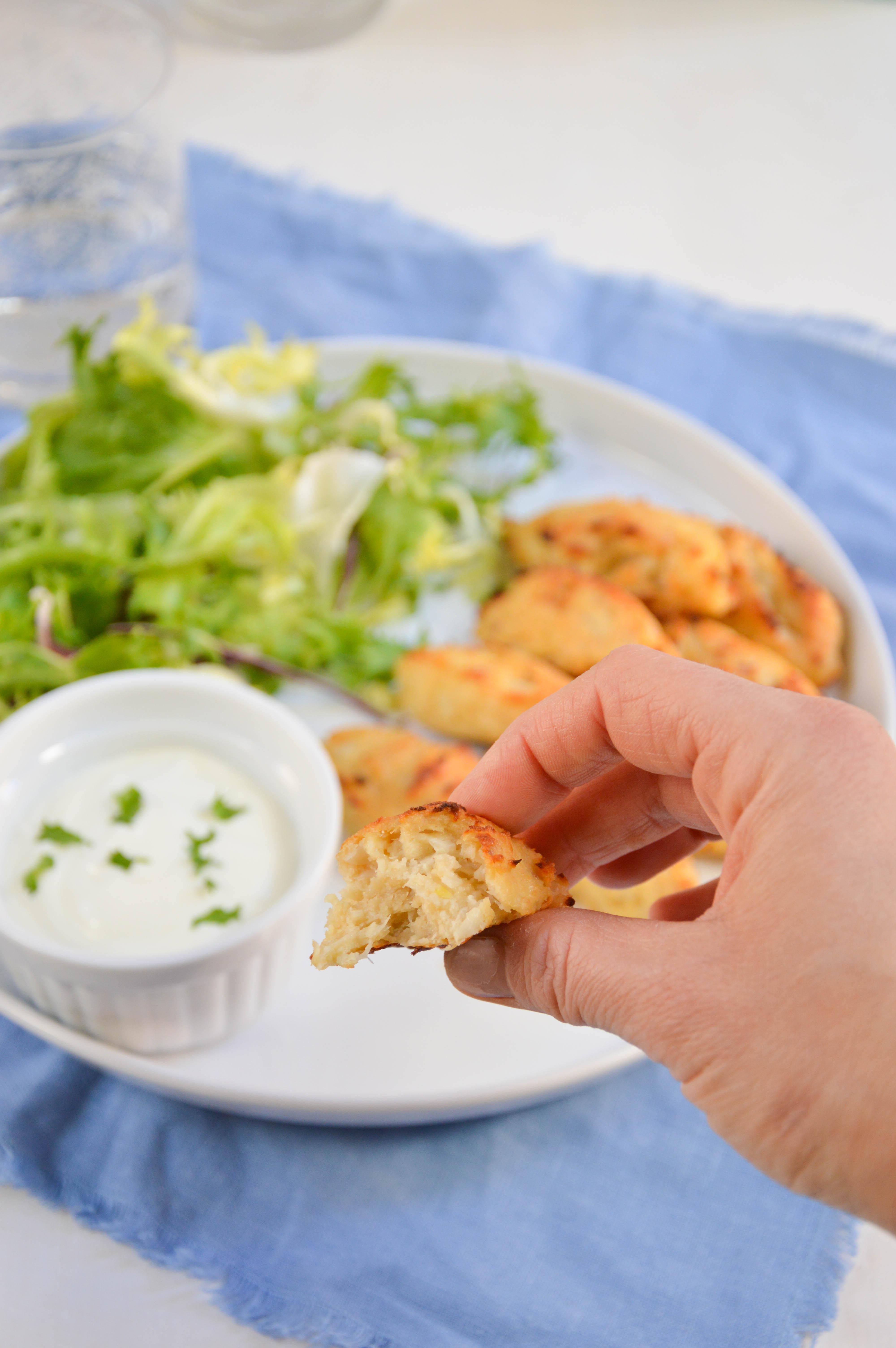 pastelitos coliflor la cuchara azul 2