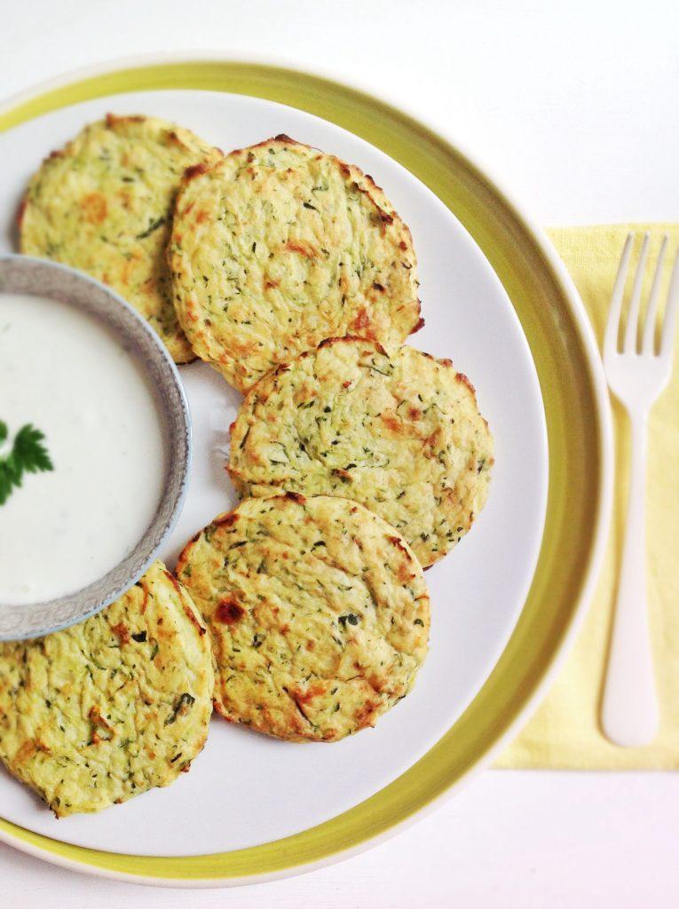 Pastelitos de calabacín y patata | La Cuchara Azul