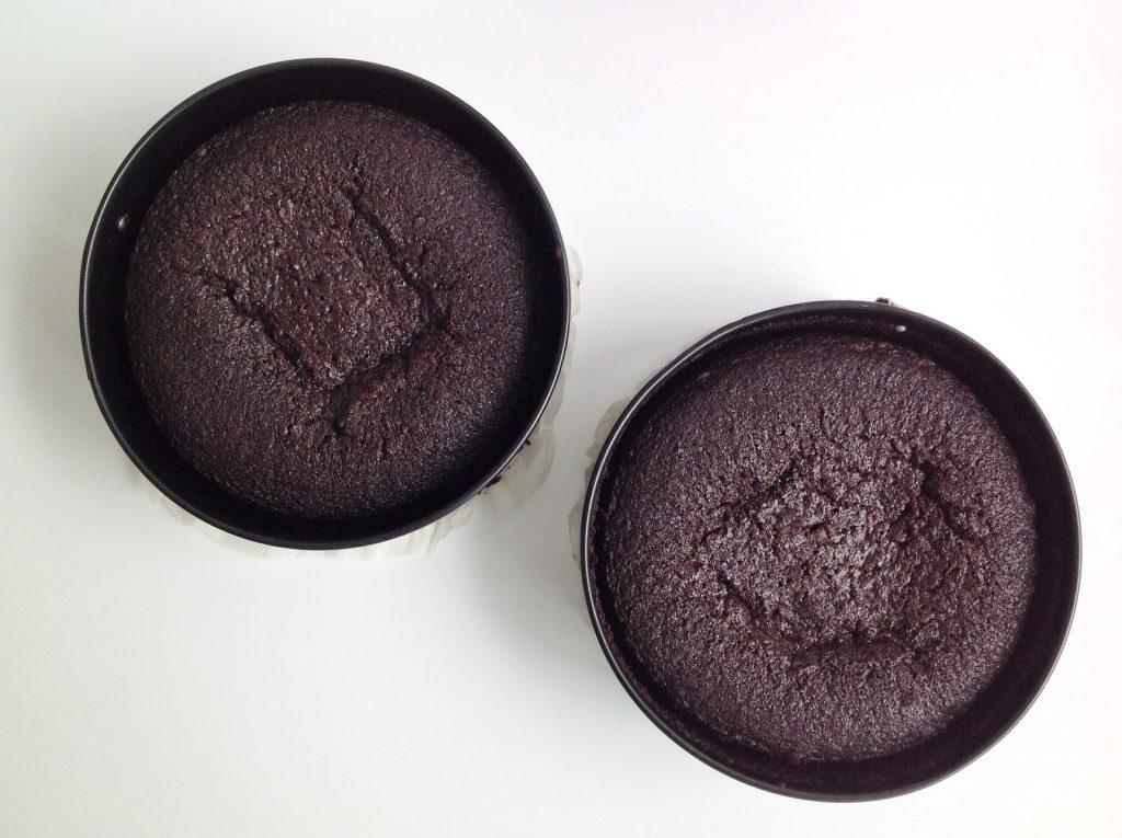 Naked cake de chocolate y crema de queso | La Cuchara Azul
