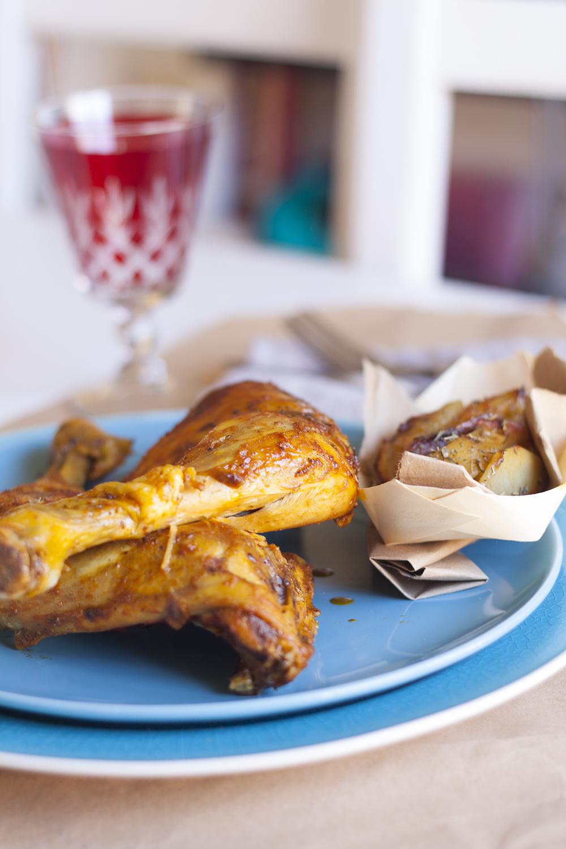Pollo asado Tandoori Masala - Ecogall